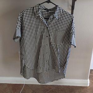 Madewell plaid courier shirt
